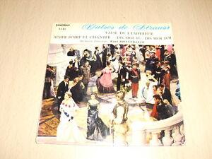 Kurt-Diefenbaker-Valses-De-Strauss-7-039-039-45-RPM-EP