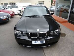 2002 BMW 318TI E46/5 Steptronic Black 5 Speed Sports Automatic Hatchback Alphington Darebin Area Preview