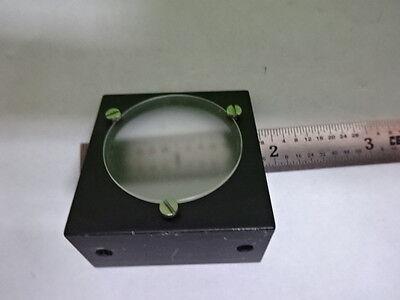 Microscope Part Polyvar Reichert Leica Diffuser Lens Optics As Is Bin8m-d-04