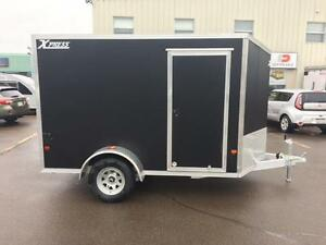 NEW 2017 XPRESS 6' x 10' ALUMINUM ENCLOSED TRAILER