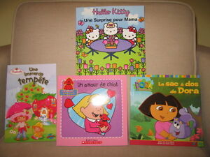 4 Children's French Books (New) (B)