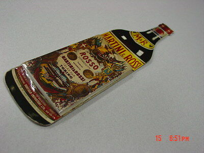 Vintage Martini & Rossi Advertising Notepad Bar Rosso Vermouth Sealed Liquor ad
