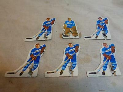 Maple Set Game Table (Vtg Munro #991 Table Hockey Game Toronto Maple Leafs NHL Metal Player Team)