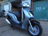 Honda PS 125 2008 + extras for sale £999