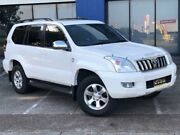 2008 Toyota Landcruiser Prado KDJ120R 07 Upgrade GXL (4x4) White 5 Speed Automatic Wagon Eagle Farm Brisbane North East Preview