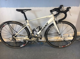 For Sale is a 2011 Giant Defy 3 (small) 8sp with triple front chain rings