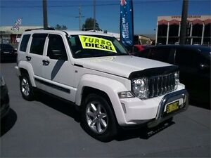 2008 Jeep Cherokee KK White Sports Automatic Wagon Lansvale Liverpool Area Preview