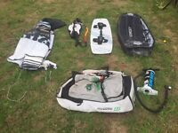 Amazing Beginners/Improvers Kitesurfing Complete Package Secondhand!!