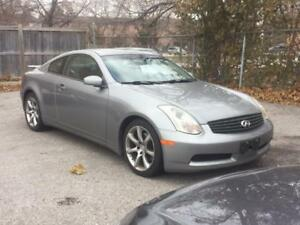 2005 INFINITI G35 Coupe Sport **ONLY $3900**