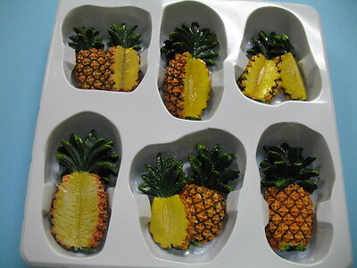 3D PineApple magnets.Kitchen decor home  Fruits ...