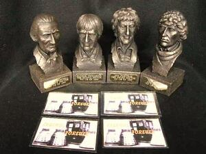 4-DR-WHO-LIMITED-EDITION-LEGENDS-FOREVER-BUSTS-RARE-MATCHING-SET-OF-FIRST-4-DRS