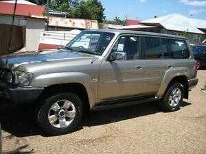 2006 Nissan Patrol GU IV MY06 ST 5 Speed Manual Wagon Woodend Ipswich City Preview