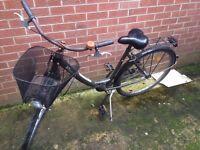 BTWIN single speed city bike