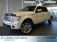 2014 Ford F-150 Limited-Moon Roof-Nav-Power Running Boards
