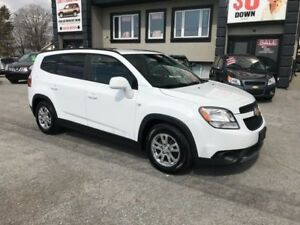 2012 Chevrolet Orlando LT 3rd row - Very clean!