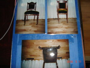 Late 1800's Victorian Era Chairs