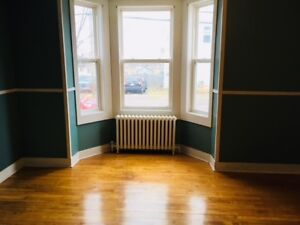 Bright 1 & 1/2 bedroom for rent. Great downtown location!