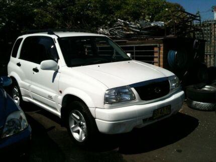 2003 Suzuki Grand Vitara  White 4 Speed Automatic Wagon Woodbine Campbelltown Area Preview