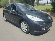2008 Peugeot 207 A7 XT Black 4 Speed Automatic Hatchback Granville Parramatta Area Preview