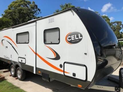 Cell Bunkhouse Caravan 2015
