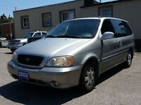 2003 Kia Sedona cert&etested
