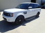 2012 Land Rover Range Rover Sport L320 12MY SDV6 CommandShift White Satin 6 Speed Sports Automatic Wangara Wanneroo Area Preview