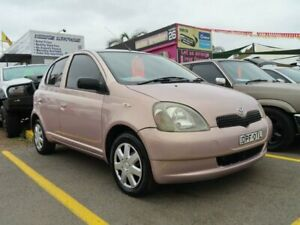 1999 Toyota Echo NCP10R Pink 4 Speed Automatic Hatchback