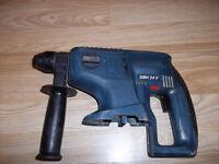 BoschGBH 24 volt cordless SDS hammer drill/drill BODY ONLY