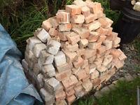brick mix, rubble, setts, see photo