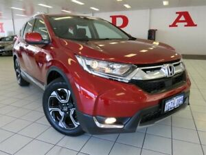2019 Honda CR-V MY19 VTi-S (AWD) Passion Red Continuous Variable Wagon Osborne Park Stirling Area Preview