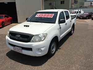 2011 Toyota Hilux KUN16R MY12 SR White 5 Speed Manual Dual Cab Pick-up Berrimah Darwin City Preview