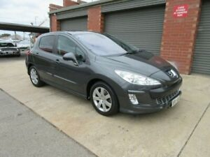 2008 Peugeot 308 XSE Turbo Grey Mica 4 Speed Automatic Hatchback Gilles Plains Port Adelaide Area Preview