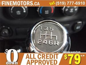 2012 JEEP WRANGLER UNLIMITED SAHARA * 4x4 * BOTH HARD & SOFT TOP London Ontario image 10
