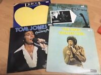 Tom Jones/ Dr Hook/ Ray Orbison records
