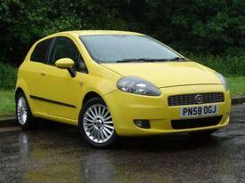 FIAT GRANDE PUNTO 1.4 GP 16V 3d 94 BHP (yellow) 2008