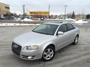 2006 AUDI A4 2.0T *6 SPEED,LEATHER,SUNROOF,PRICED TO SELL!!!*