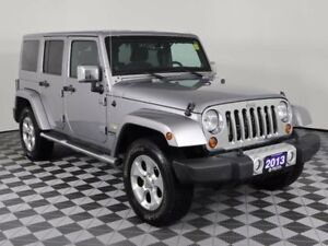 2013 Jeep Wrangler Unlimited NAVIGATION/DUAL TOP GROUP/REMOTE ST