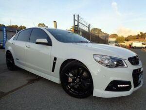 2014 Holden Commodore VF SS-V Redline White 6 Speed Manual Sedan Pooraka Salisbury Area Preview