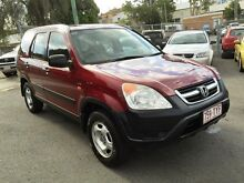 2003 Honda CR-V RD MY2003 4WD Chianti Red 5 Speed Manual Wagon Southport Gold Coast City Preview