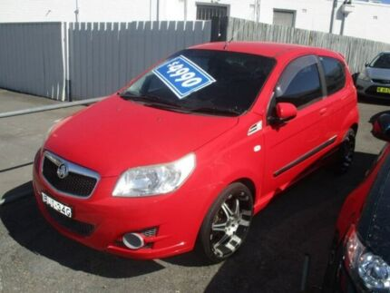 2009 Holden Barina TK MY09 Red 5 Speed Manual Hatchback Broadmeadow Newcastle Area Preview