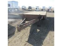 2006 Blue Sky Heavy Duty 20ft deck over 7K tri-axle Trailer