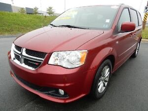 2014 DODGE GRAND CARAVAN CREW LEATHER