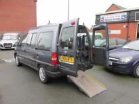 Wheelchair car Fiat Scudo 7 seats accessible vehicle, disabled access mobility