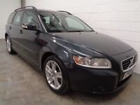 VOLVO V50 DIESEL ESTATE , 2009 , LOW MILES + FULL HISTORY , LONG MOT , FINANCE AVAILABLE , WARRANTY