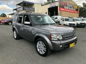 2009 Land Rover Discovery 4 Series 4 10MY TDV6 HSE Silver Sports Automatic Wagon Greystanes Parramatta Area Preview