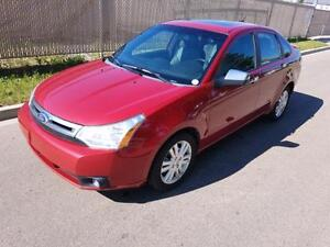 2011 Ford Focus SEL LEATHER, SUNROOF....NO ACCIDENTS GREAT SHAPE