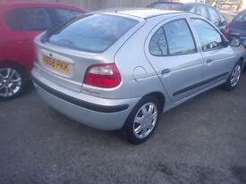 RENAULT MEGAN ONLY 45000 MILES FROM NEW 2 LADY OWNERS