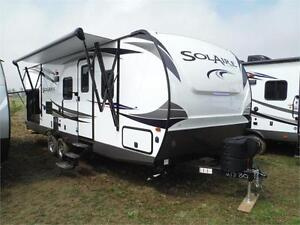 2018 Solaire 251RBSS Ultra Lite Travel Trailer w O/S Kitchen