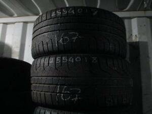 255/40 R20 PIRELLI SOTTO ZERO WINTER TIRES USED SNOW TIRES (SET OF 4 - $340.00) - APPROX. 70% TREAD