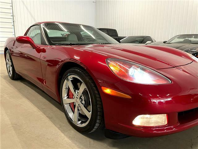 2010 Burgundy Chevrolet Corvette  3LT | C6 Corvette Photo 8